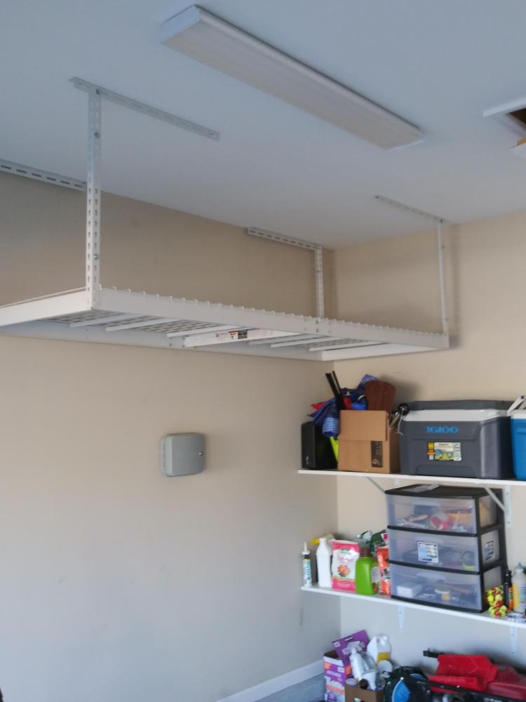 Shelf Ceiling Installation