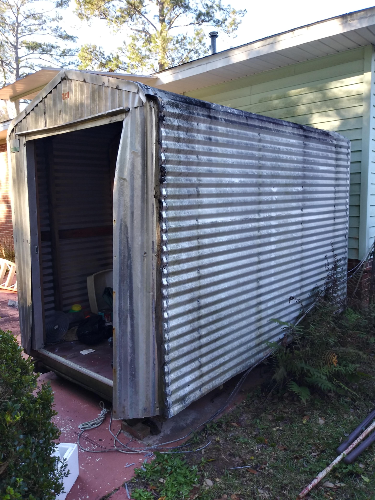 Shed Deconstruction in Tallahassee