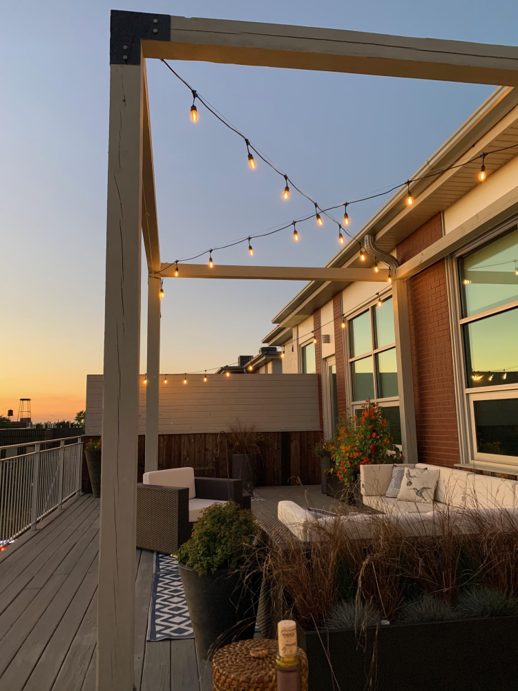 New Rooftop Pergola