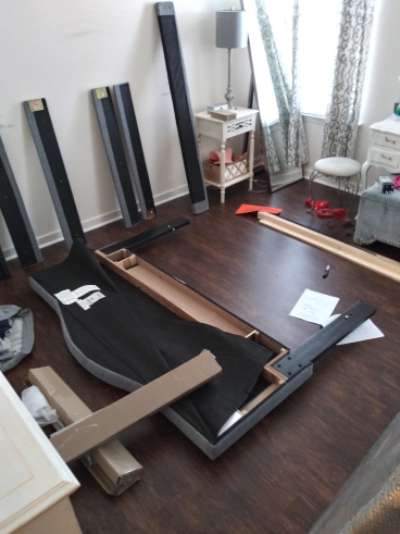 Bed Frame Build in Tallahassee