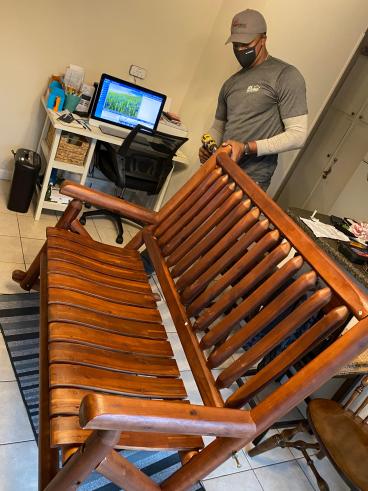Craftsman Building Bench Rocker in Tallahassee