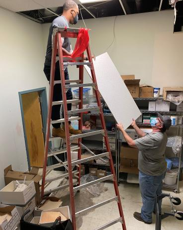 Craftsman Installing Ceiling Tiles in Tallahassee