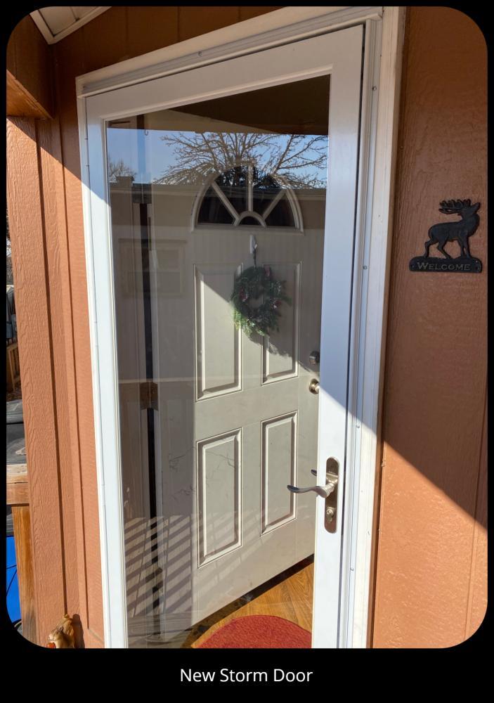 New Storm Door