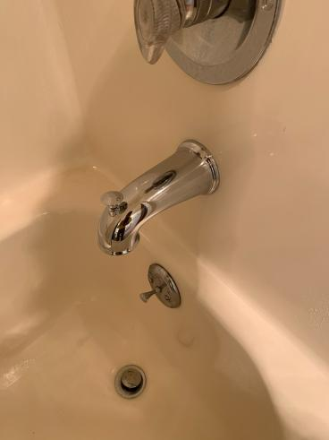 Tub Spout Replacement - After