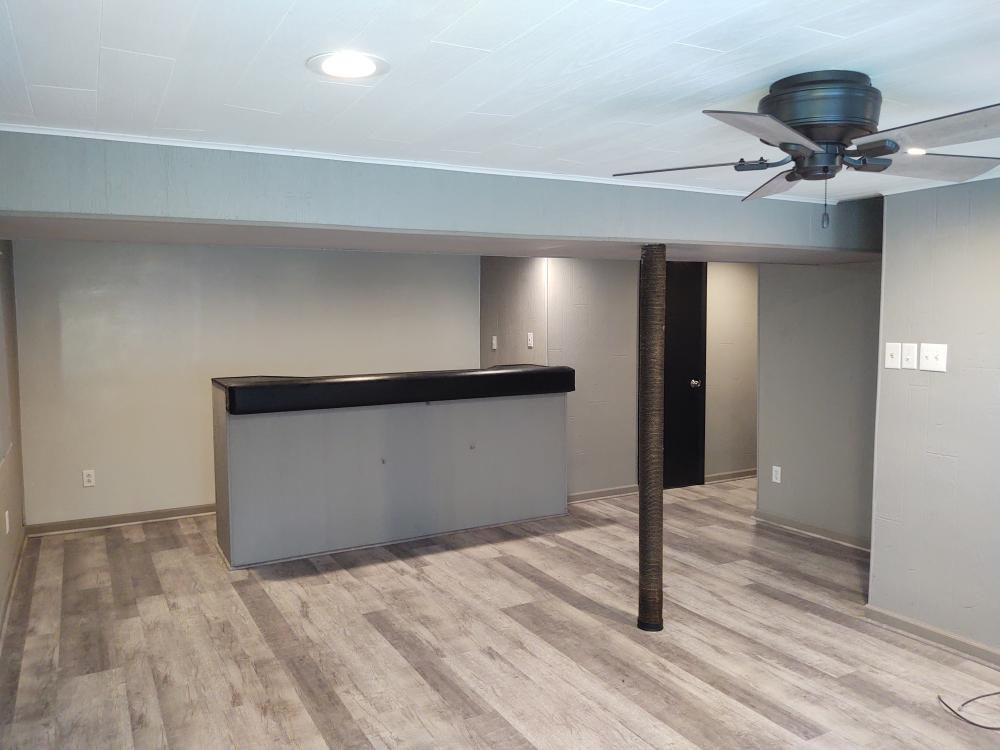 Interior remodel