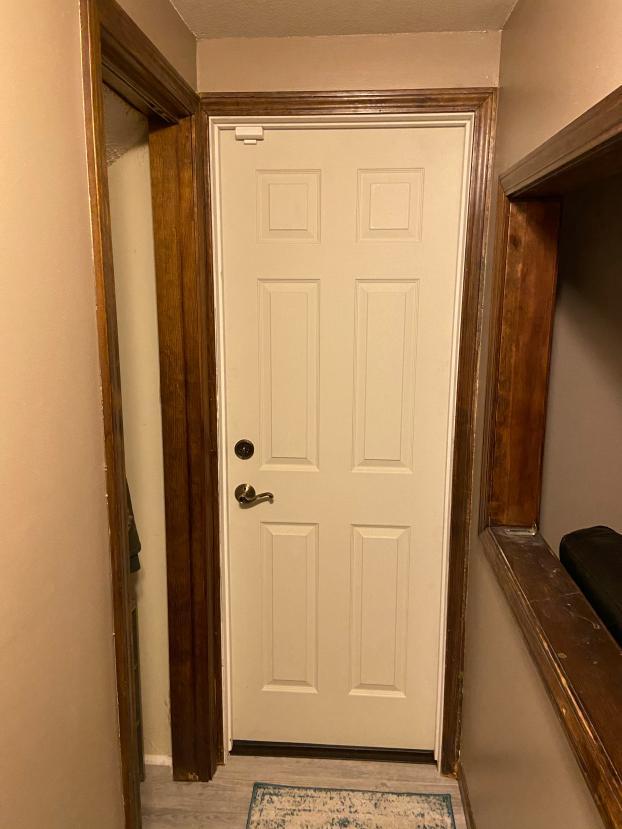 Door replacement - After