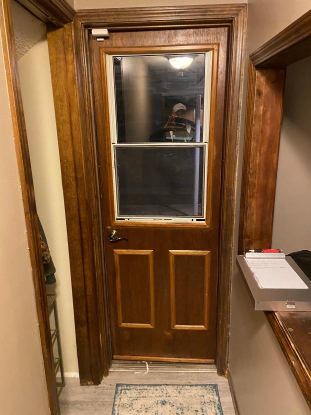 Door replacement - before