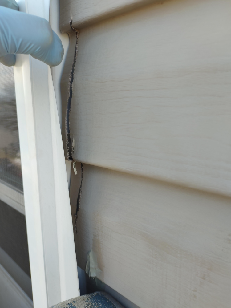 Exterior Window Repair-Before