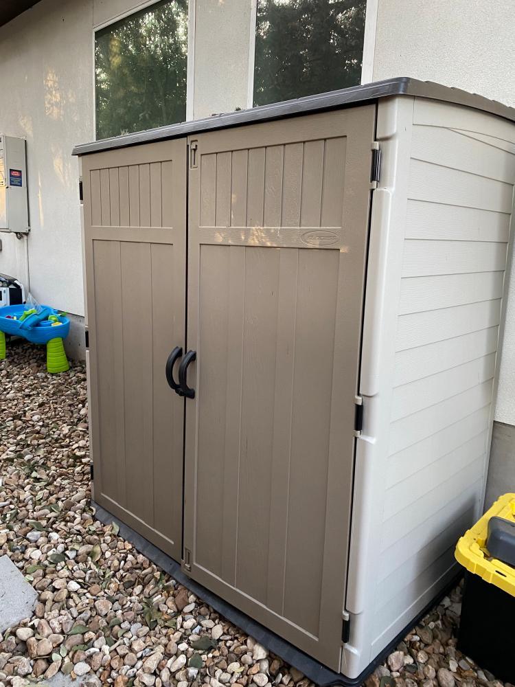 Weatherproof Lockable Outdoor Storage Shed
