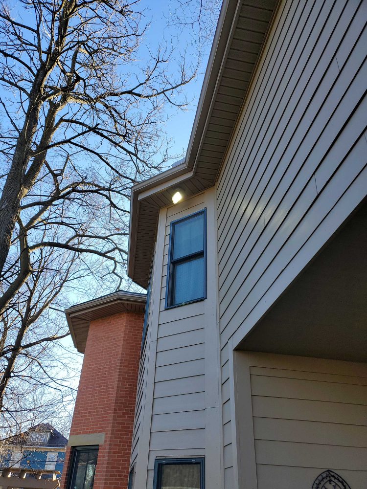 2nd Story Light Installation in Westerville