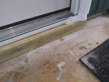 Screen Door Support Repair in Tallahassee