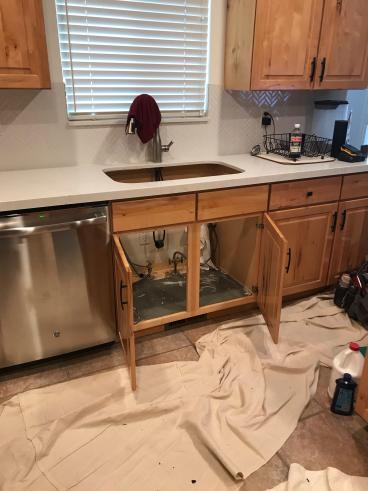 Kitchen Sink Before