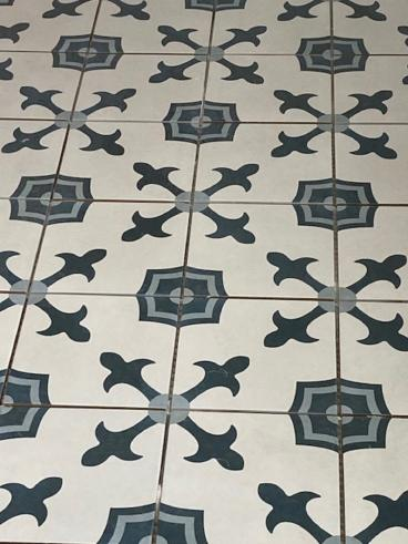 Ace Handyman Services of Wilkes-Barre and Scranton Installing Floor Tiles in Kingston