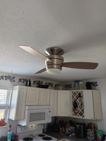 Install Kitchen Ceiling Fan