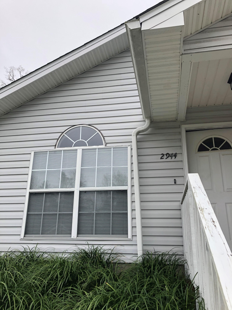 Gutter Downspout Adjustment in Tallahassee