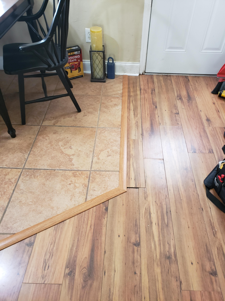T Molding Installation in Tallahassee