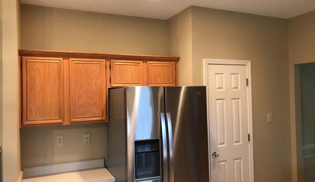 Kitchen Shelving Adjustment for New Refrigerator in Fishers, Hamilton County IN - After