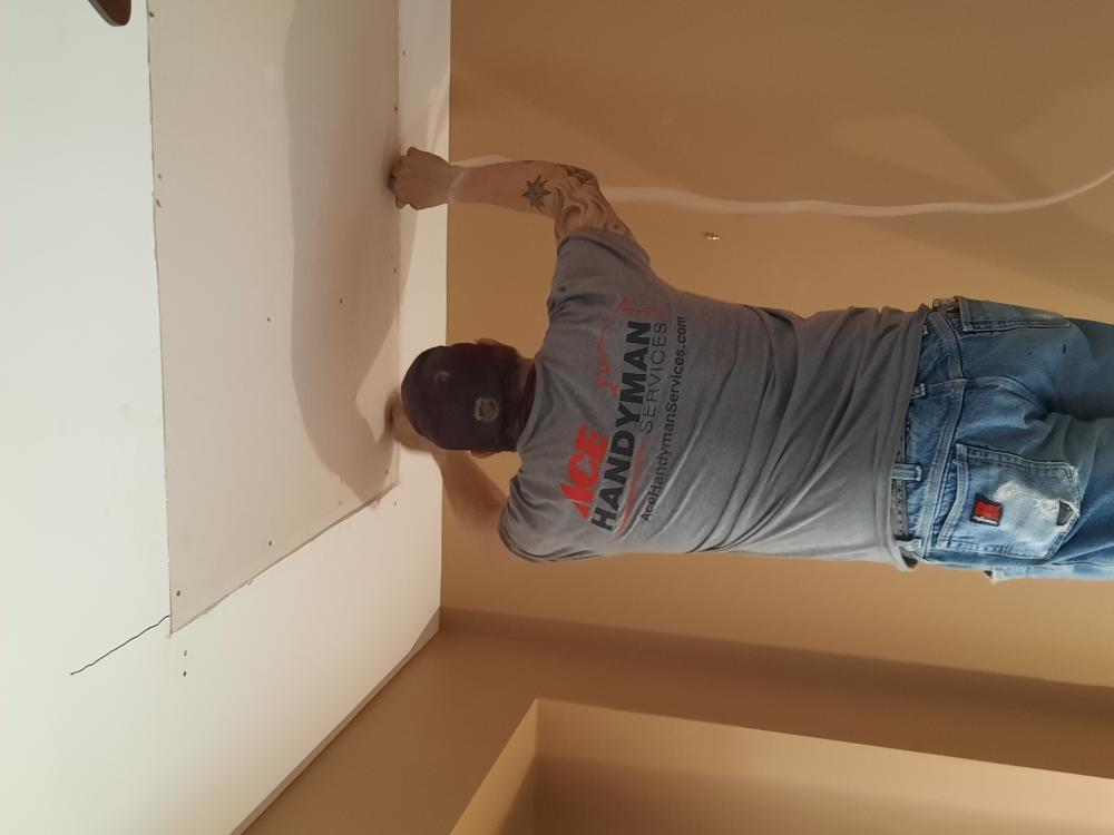 Ceiling Repair - After