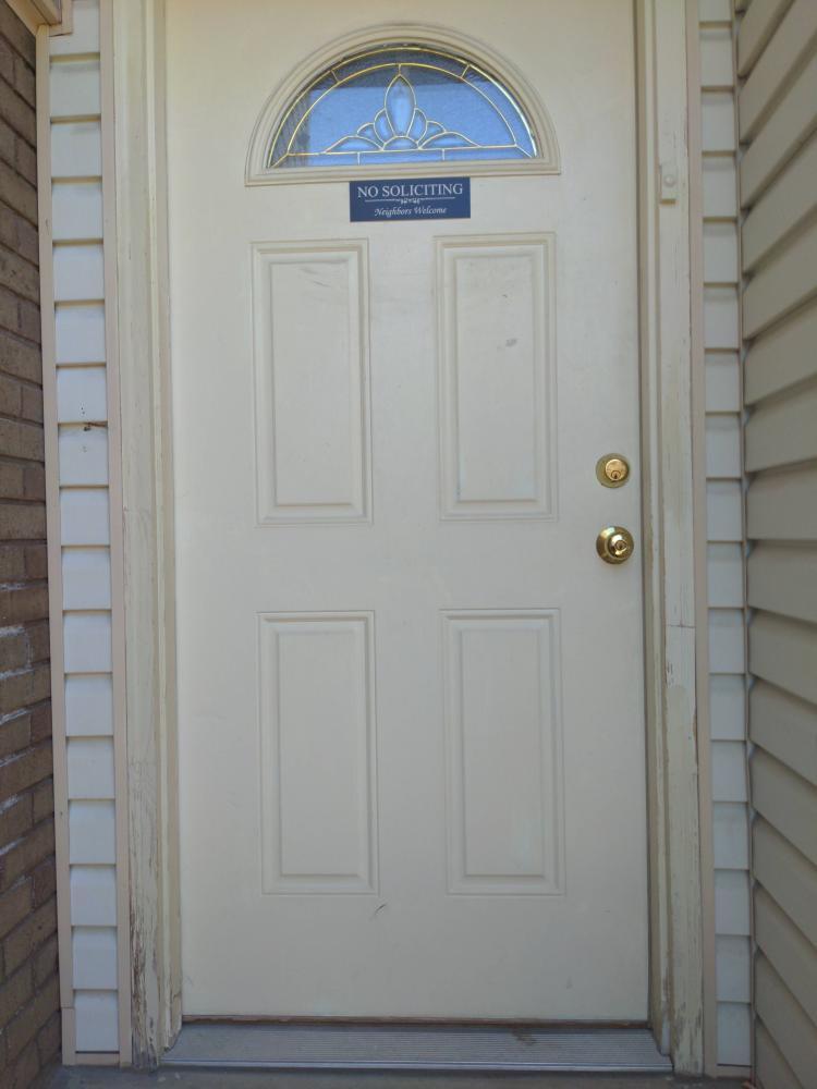 Cottonwood Heights Front Door