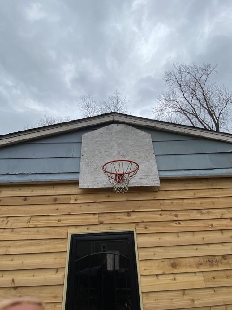 Garage Gable vent - Indianapolis, IN - Before