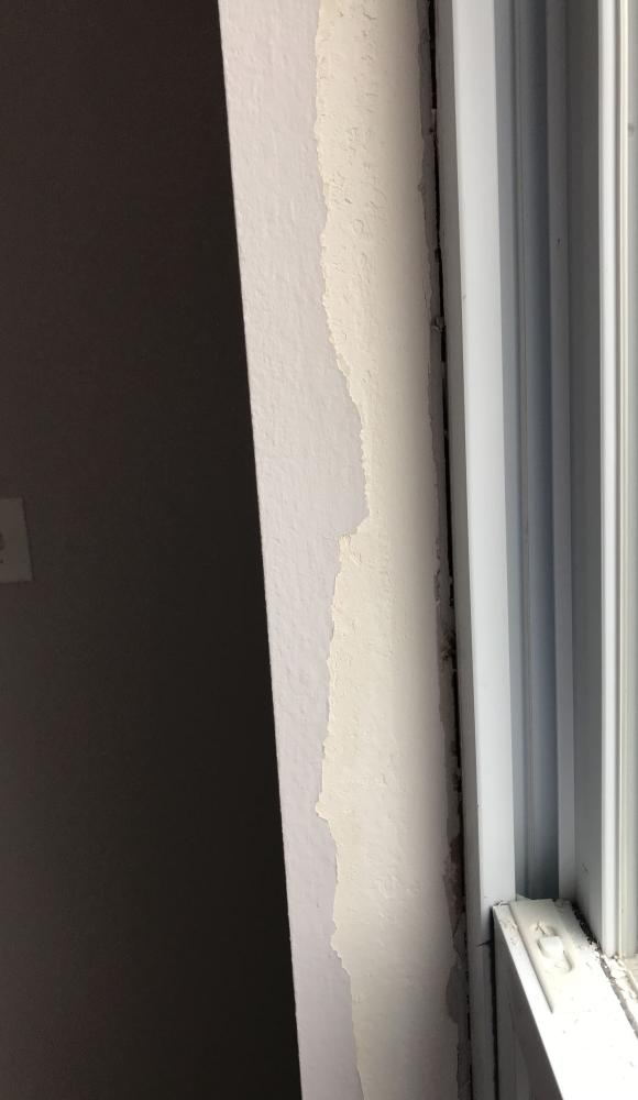 Drywall repair - Westfield, Hamilton County, IN - Before