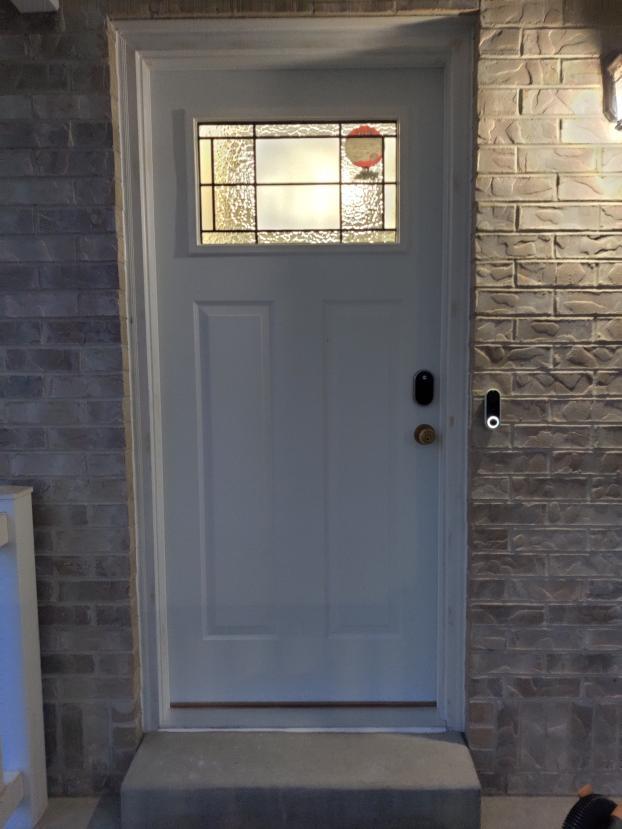 After photo for new door in West Jordan