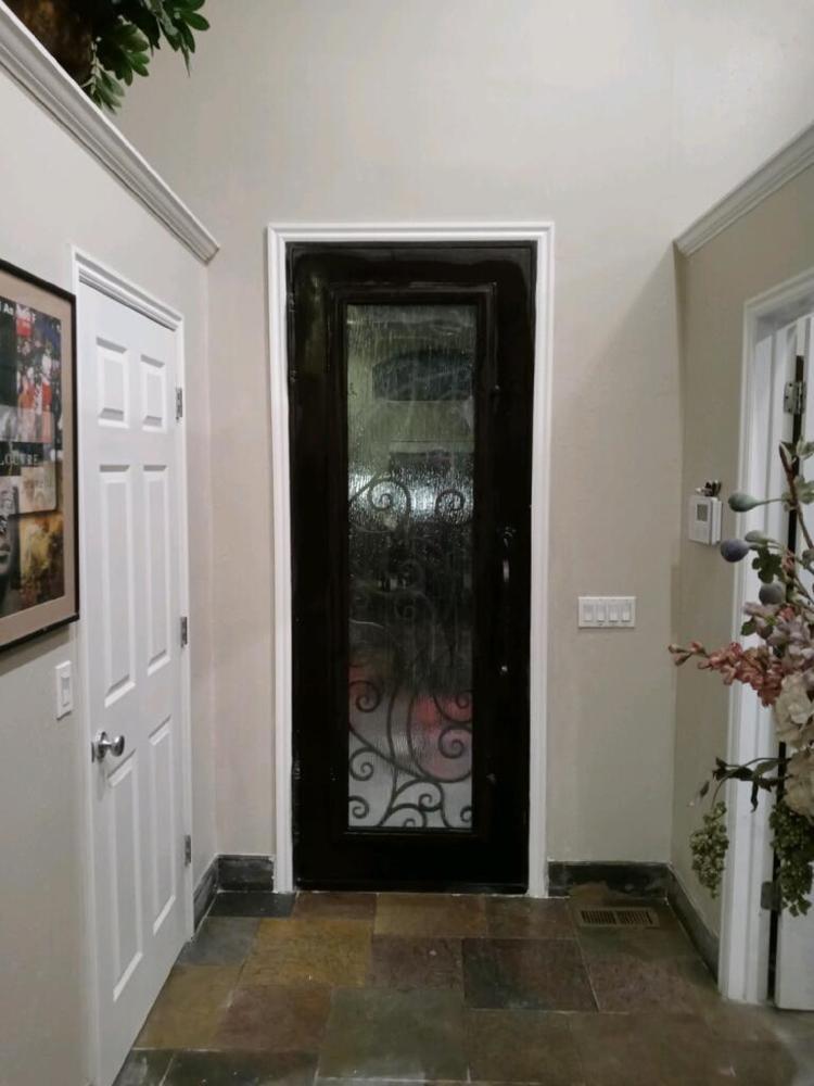Steel Door After