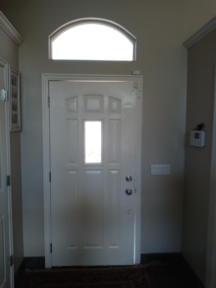 Steel Exterior Door Installation