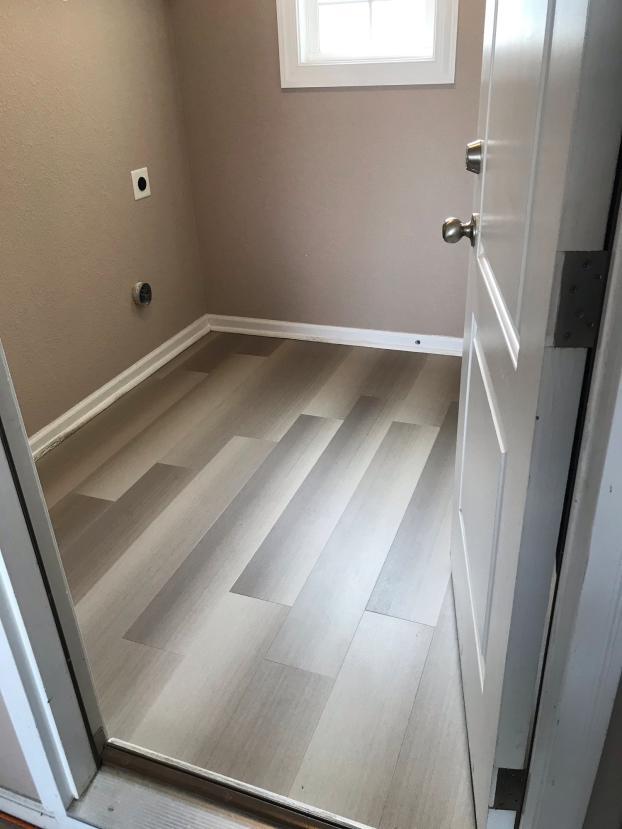 After flooring install
