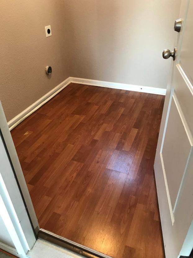 Before flooring install