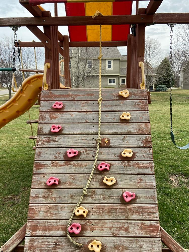 Pressure Washed Playset - Carmel, Hamilton County, IN - Before
