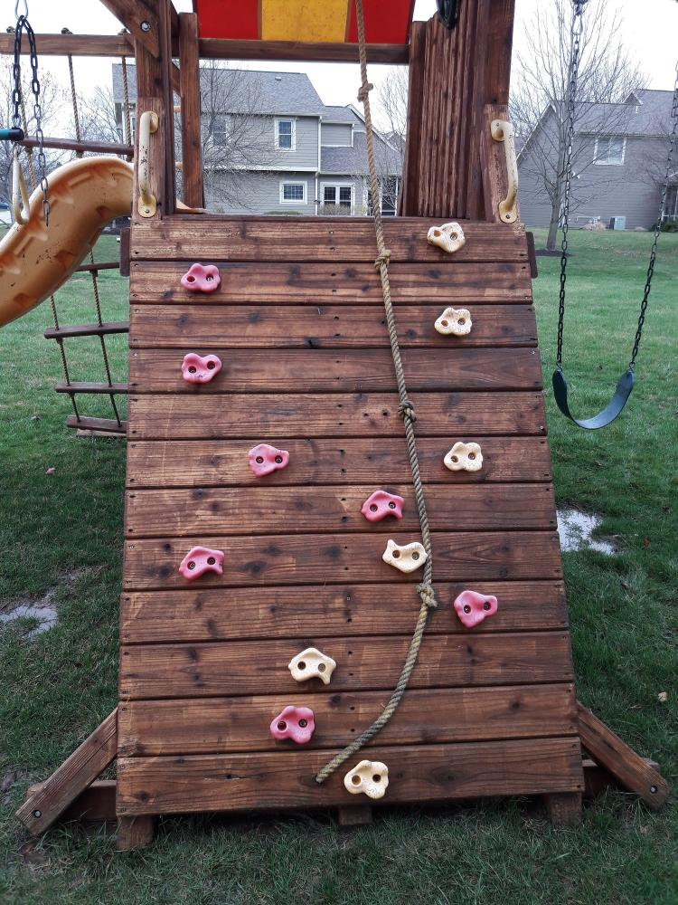 Pressure Washed Playset - Carmel, Hamilton County, IN - After