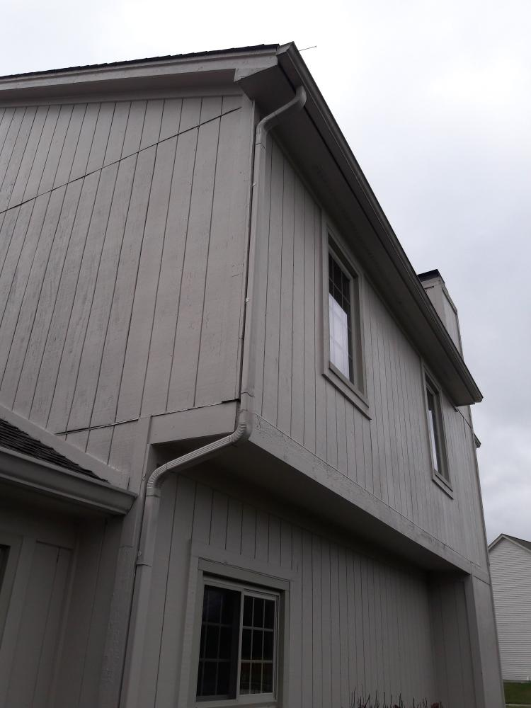Gutter Reattachment - Carmel, Hamilton County, IN - After