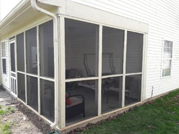 Screen Patio Repair - Noblesville, Hamilton County, IN - After
