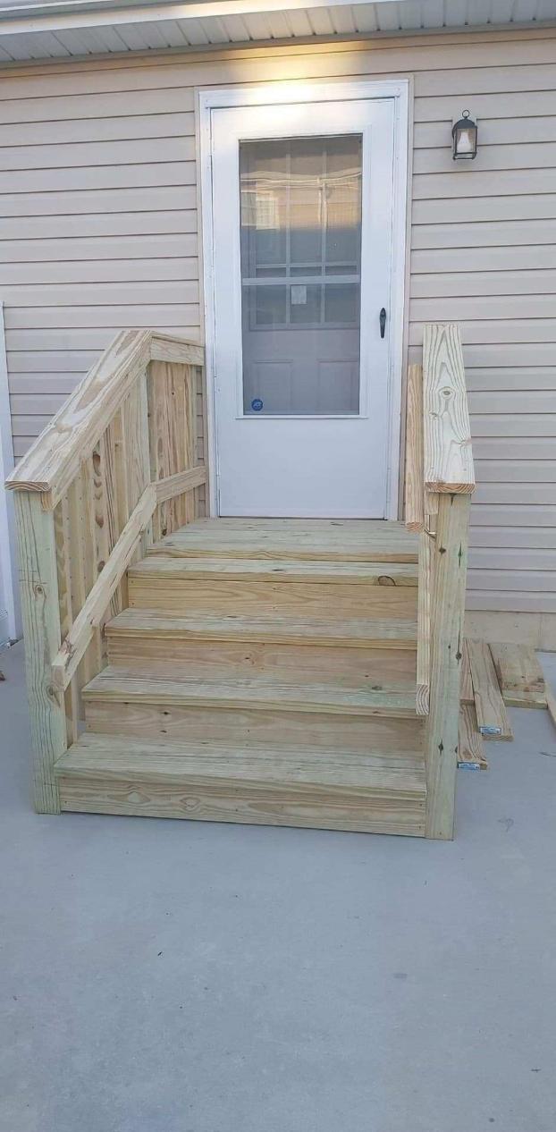 Back Door Steps Camden-Wyoming, DE