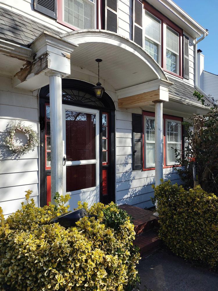 Front Porch Restore Historic Home