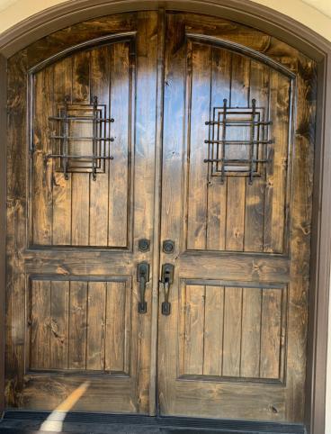 Refinished Front door