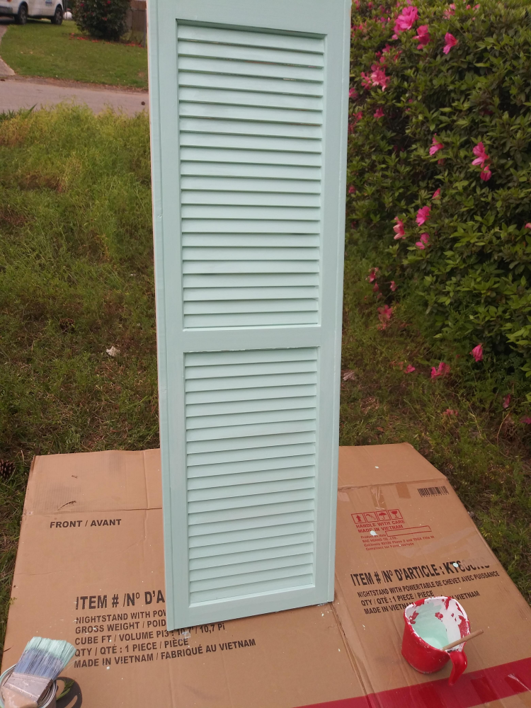 Painting Shutter in Tallahassee
