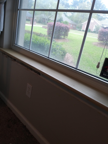 Window Sill Termite Damage Repair in Tallahassee