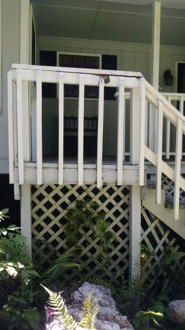 Stair and Rail Replacement in Tallahassee
