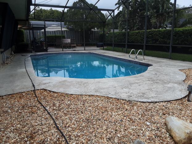 Pool Deck (Before)