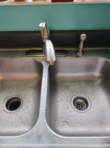 Installed New Kitchen Faucet