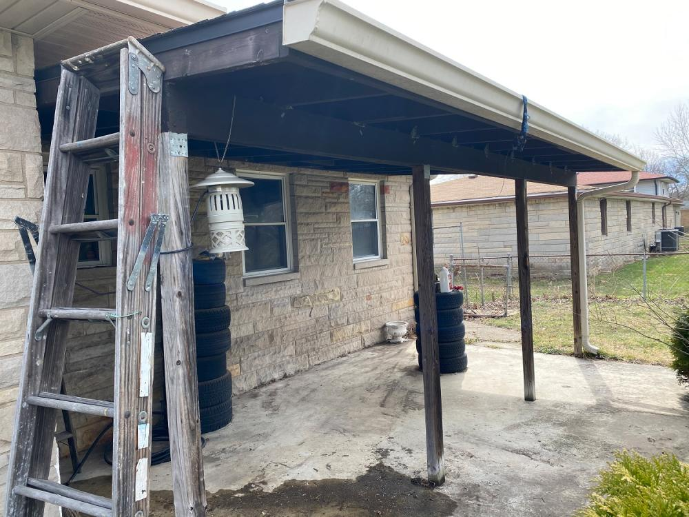 Patio for a Cat is called a Catio - Indianapolis, IN - Before