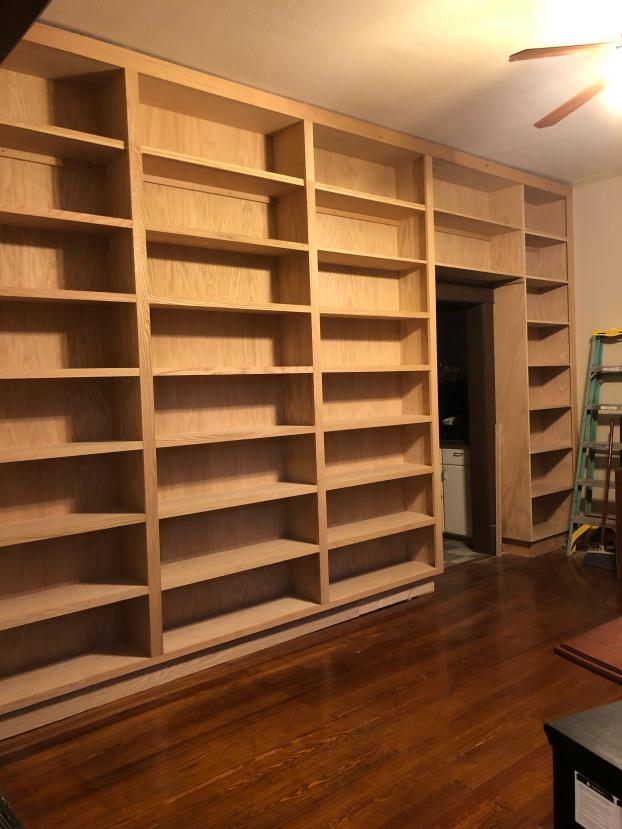 Custom Bookcase done in Rogers