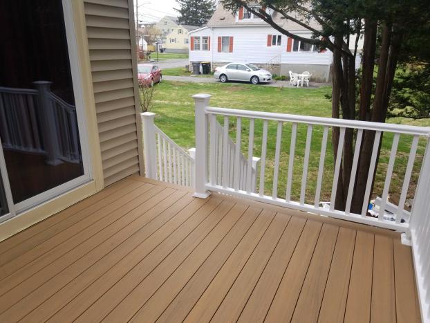 Framingham Deck Make-over After