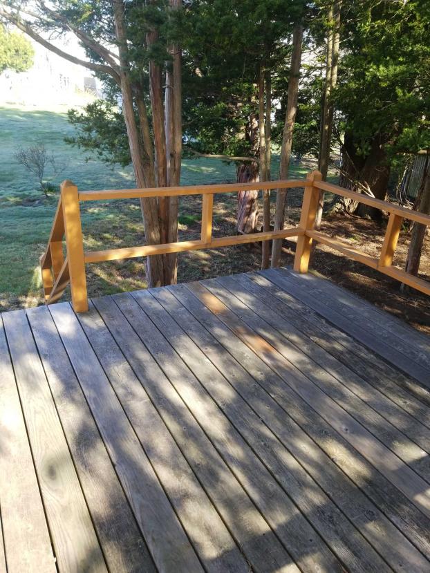 Framingham Deck Make-over  Before (2)