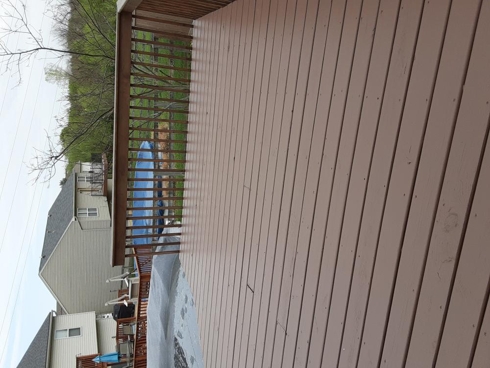 Re-Stain Deck