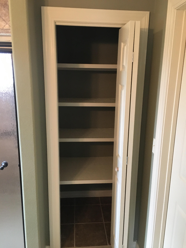 Closet Conversion in West Fork