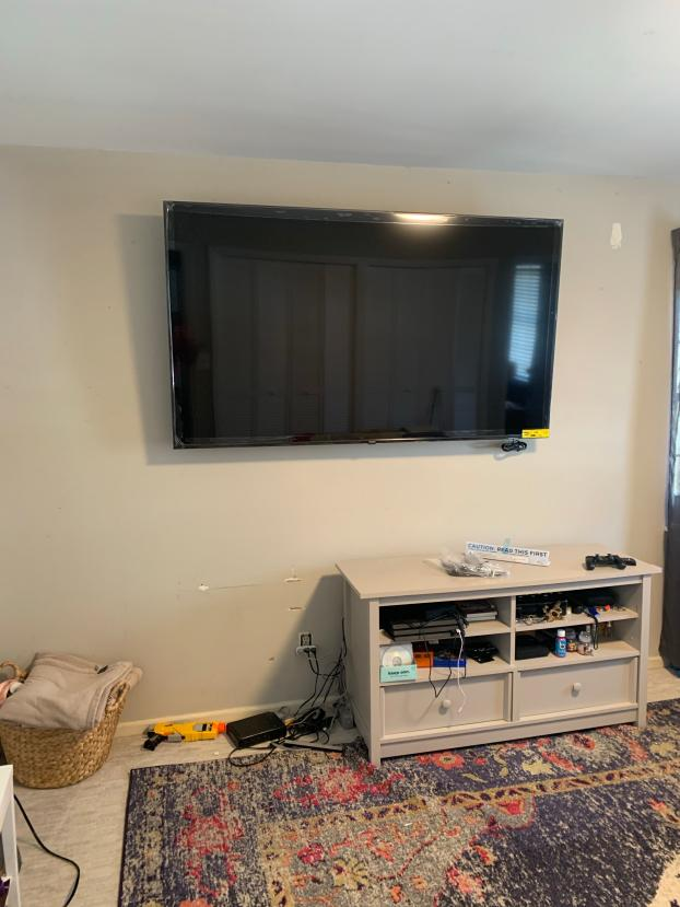 We can hang your TV!