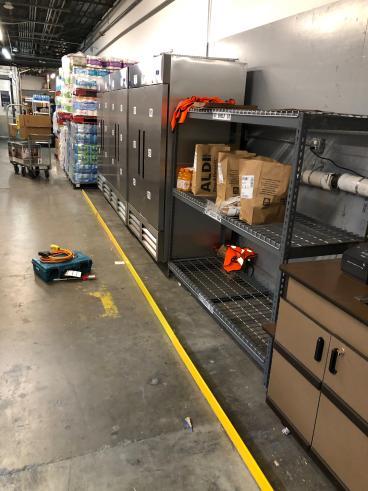 Installed Floor Guards